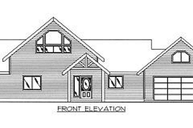 Contemporary Exterior - Other Elevation Plan #117-519 - Houseplans.com