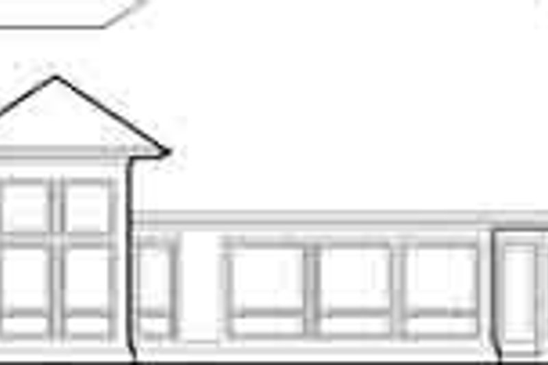Mediterranean Exterior - Rear Elevation Plan #48-224 - Houseplans.com