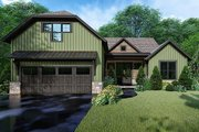 Farmhouse Style House Plan - 3 Beds 2 Baths 1998 Sq/Ft Plan #923-153 Exterior - Front Elevation