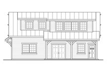 Dream House Plan - Craftsman Exterior - Other Elevation Plan #124-1222