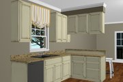 Cottage Style House Plan - 2 Beds 2 Baths 1073 Sq/Ft Plan #44-178 Interior - Other