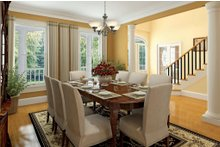 Country Interior - Dining Room Plan #929-18