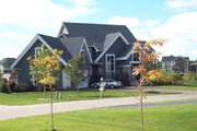 Traditional Style House Plan - 5 Beds 4.5 Baths 3478 Sq/Ft Plan #56-596 Exterior - Other Elevation