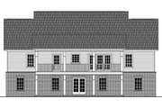Country Style House Plan - 3 Beds 2.5 Baths 1951 Sq/Ft Plan #21-369 Exterior - Rear Elevation