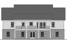 Dream House Plan - Country Exterior - Rear Elevation Plan #21-369