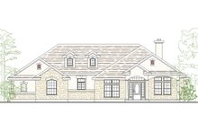 Country Exterior - Front Elevation Plan #80-144