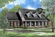 Southern Style House Plan - 4 Beds 3 Baths 2789 Sq/Ft Plan #17-214