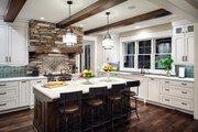 Craftsman Style House Plan - 4 Beds 3.5 Baths 4129 Sq/Ft Plan #928-260 Interior - Kitchen