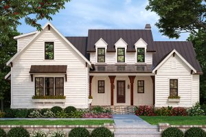 Farmhouse Exterior - Front Elevation Plan #927-998