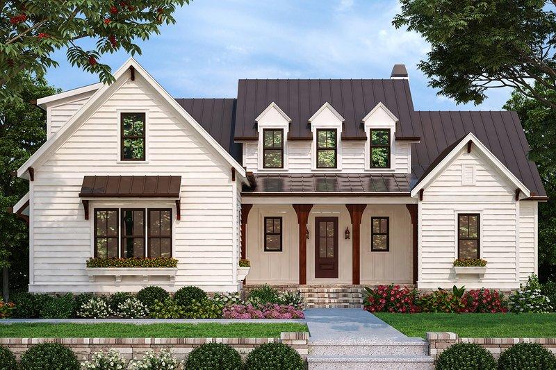 Farmhouse Style House Plan - 4 Beds 3.5 Baths 2744 Sq/Ft Plan #927-998