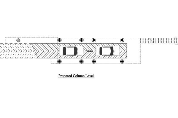 Modern Floor Plan - Lower Floor Plan Plan #905-4
