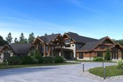 Classical Style House Plan - 5 Beds 7.5 Baths 10754 Sq/Ft Plan #1066-86 Exterior - Other Elevation