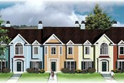 Traditional Style House Plan - 2 Beds 2.5 Baths 7083 Sq/Ft Plan #26-205 Exterior - Front Elevation