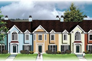 Traditional Exterior - Front Elevation Plan #26-205