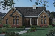 Traditional Style House Plan - 3 Beds 2 Baths 1675 Sq/Ft Plan #120-159 Exterior - Front Elevation