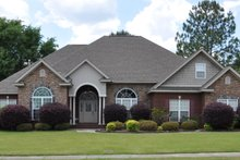 Dream House Plan - Traditional Exterior - Front Elevation Plan #63-222
