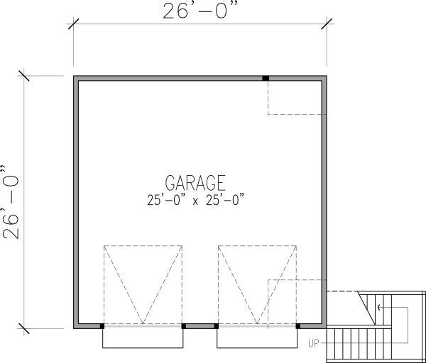 Victorian Floor Plan - Main Floor Plan Plan #410-3611