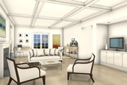 Colonial Style House Plan - 3 Beds 2.5 Baths 2688 Sq/Ft Plan #497-49