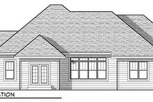 Craftsman Exterior - Rear Elevation Plan #70-920