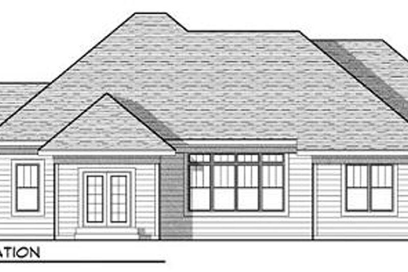 Craftsman Exterior - Rear Elevation Plan #70-920 - Houseplans.com