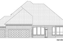 House Design - Traditional Exterior - Rear Elevation Plan #84-523