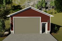 Dream House Plan - Traditional Exterior - Front Elevation Plan #1060-92