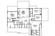 Country Style House Plan - 5 Beds 4 Baths 4061 Sq/Ft Plan #419-306 Floor Plan - Upper Floor Plan