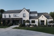 Contemporary Style House Plan - 5 Beds 4.5 Baths 5293 Sq/Ft Plan #923-210