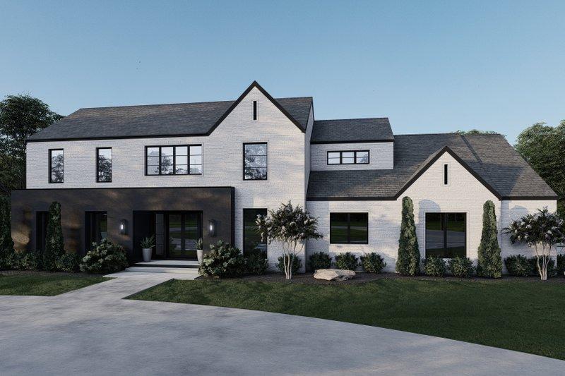 House Plan Design - Contemporary Exterior - Front Elevation Plan #923-210