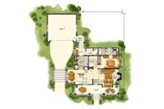 Craftsman Style House Plan - 3 Beds 3 Baths 1825 Sq/Ft Plan #942-52 Floor Plan - Main Floor Plan