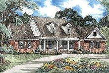 House Plan Design - Ranch Exterior - Front Elevation Plan #17-2050