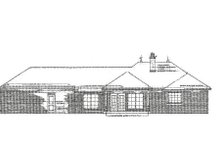 European Exterior - Rear Elevation Plan #310-658