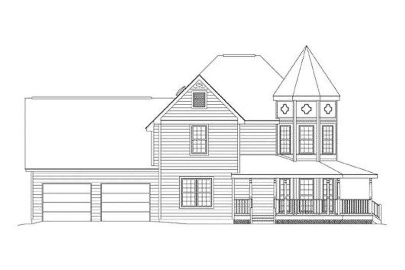 Victorian Exterior - Other Elevation Plan #57-226 - Houseplans.com