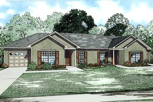 Traditional Exterior - Front Elevation Plan #17-2433