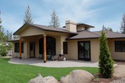 Craftsman Style House Plan - 3 Beds 4 Baths 3401 Sq/Ft Plan #895-16 Photo