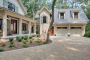 Country Style House Plan - 3 Beds 3.5 Baths 3043 Sq/Ft Plan #928-13 Exterior - Other Elevation