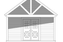 Country Exterior - Front Elevation Plan #932-301