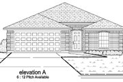 Traditional Style House Plan - 3 Beds 2 Baths 1654 Sq/Ft Plan #84-332 Exterior - Other Elevation