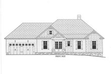 Architectural House Design - Craftsman Exterior - Front Elevation Plan #437-94