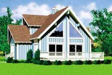 Exterior - Front Elevation Plan #72-478