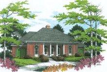 Home Plan - European Exterior - Other Elevation Plan #45-136