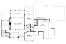 Traditional Floor Plan - Upper Floor Plan Plan #927-993