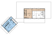Country Style House Plan - 3 Beds 4 Baths 2687 Sq/Ft Plan #923-127 Floor Plan - Upper Floor Plan