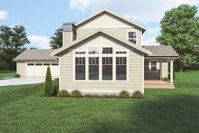 House Plan Design - Craftsman Exterior - Other Elevation Plan #1070-131