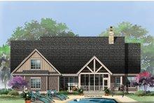Craftsman Exterior - Rear Elevation Plan #929-14