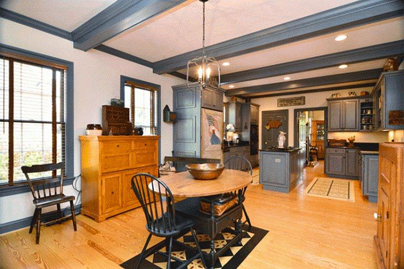 Colonial Interior - Dining Room Plan #137-204 - Houseplans.com