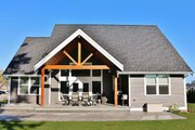 Craftsman Style House Plan - 4 Beds 2.5 Baths 2307 Sq/Ft Plan #1070-13 Exterior - Rear Elevation