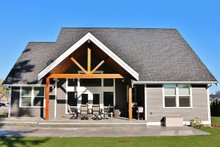 Craftsman Exterior - Rear Elevation Plan #1070-13