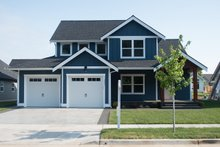 Craftsman Exterior - Front Elevation Plan #1070-48