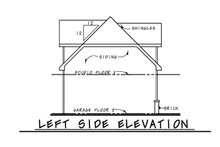 Dream House Plan - Traditional Exterior - Other Elevation Plan #20-2372